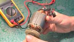 Как проверить электродвигатель тестером