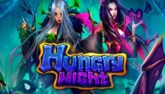 Игровой автомат Hungry Night с различными существами подземного мира в Вулкан 777