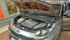 Шумоизоляция капота автомобиля – задачи и преимущества работ