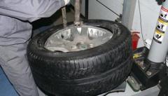 Как разбортировать колесо