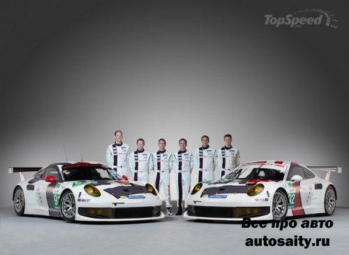 Porsche 911 GT3 RSR участвовал в гонке