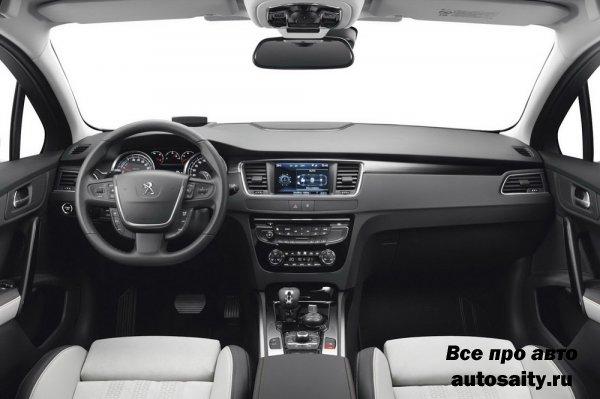 Новая Peugeot 508 приедет на Московский автосалон