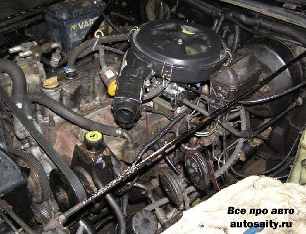 мощность карбюраторного двигателя